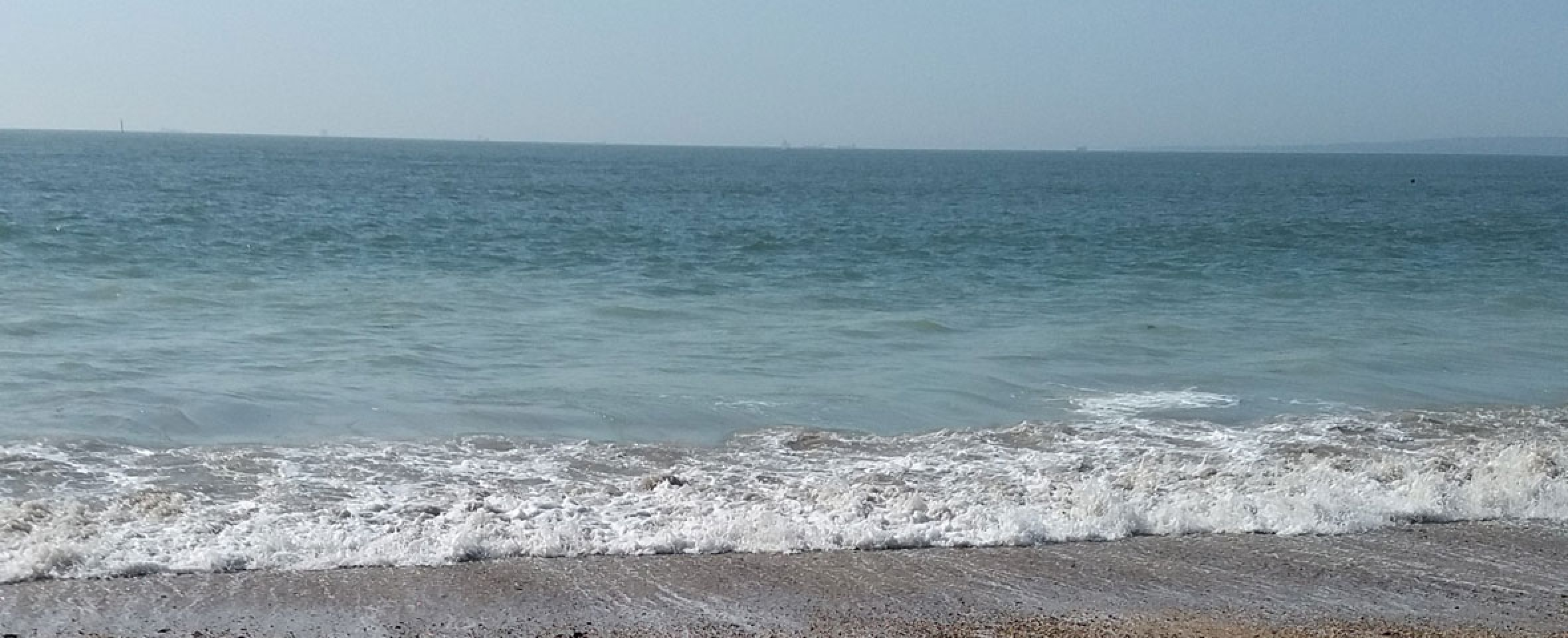 Southsea Beach in Portsmouth